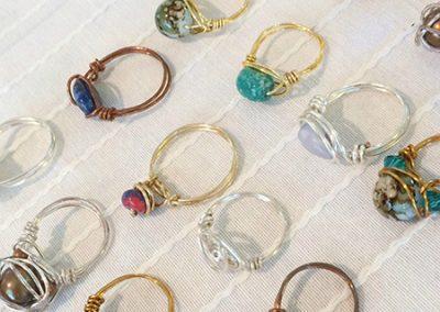 Rings by Heaven Lane Creations