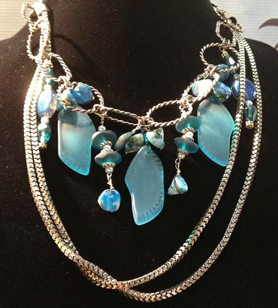 Jewelry heaven lane by andrea trank seaglass necklace custom jewelry design aloadofball Images