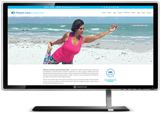 Heaven Lane has a Brand New Website!