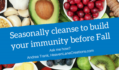 End Your Summer with a Cleanse