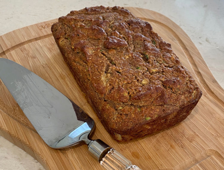 Zucchini Bread without Grains