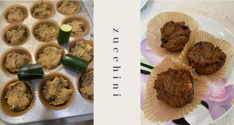A Healthier Version of the Best Ever Zucchini Muffins